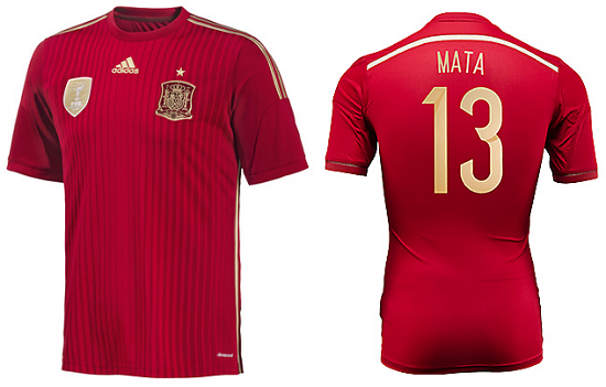 COMPETITION: Win a Juan Mata Spain shirt