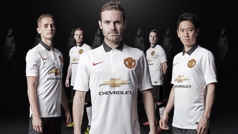 PICTURE: United's new away kit