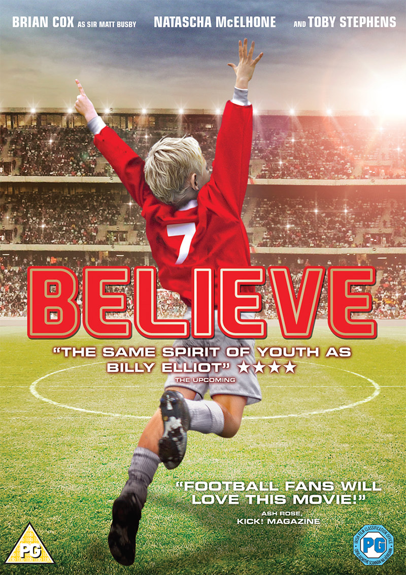 What is the Sir Matt Busby 'Believe' movie all about?