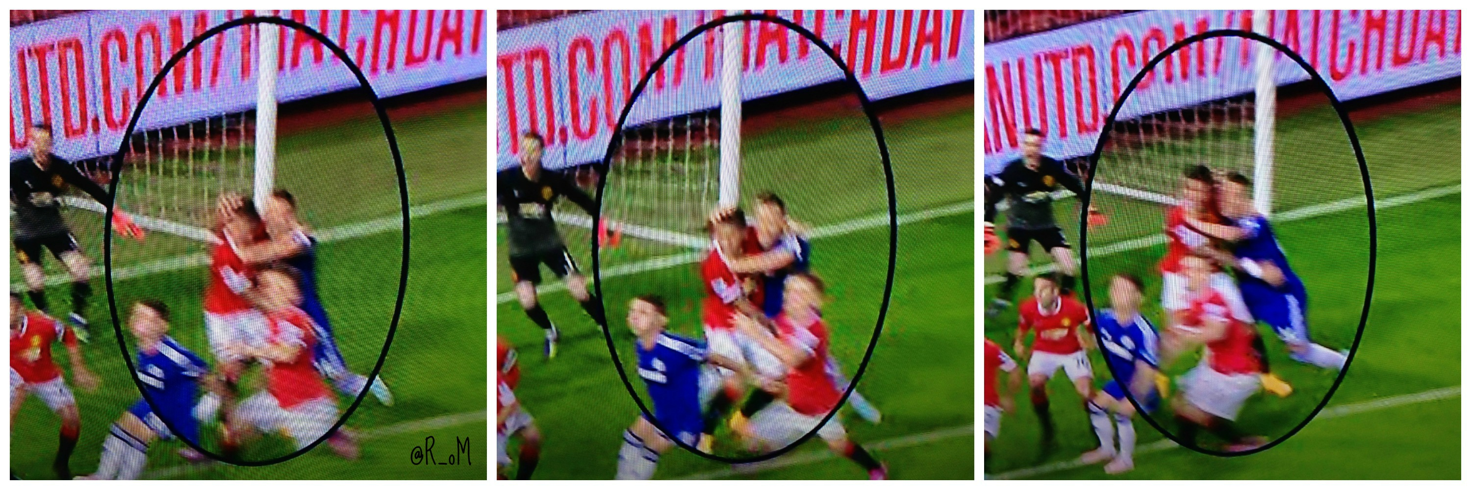 PICTURE: Terry's foul on Rojo