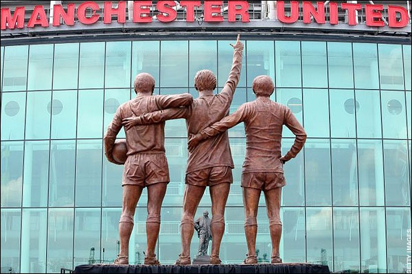 Image result for old trafford stadium statue