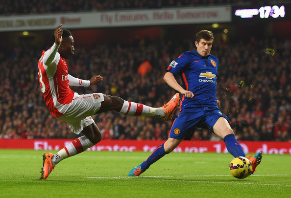 Van Gaal: Welbeck had to join Arsenal because he wouldn't play here