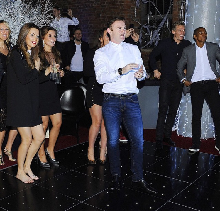 PICTURES: United players partying at Christmas do