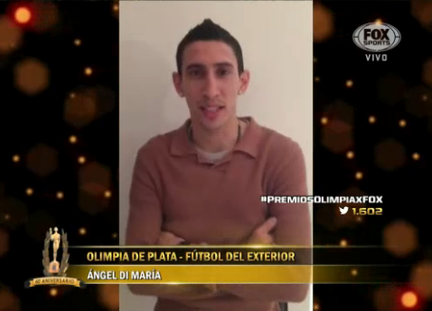 Di Maria beats Messi and Aguero to Argentina's player of the year