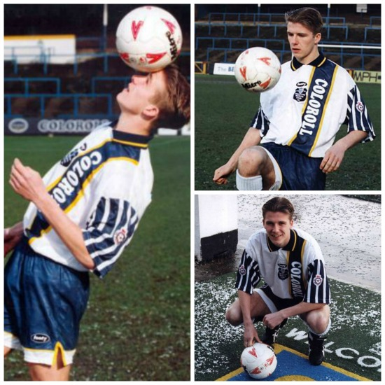VIDEO: David Beckham in his Preston days