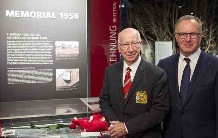 PICTURES: United pay tribute to Busby Babes