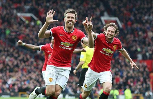What was Carrick's celebration all about?