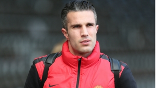 PICTURE: Van Persie is available for Manchester City game