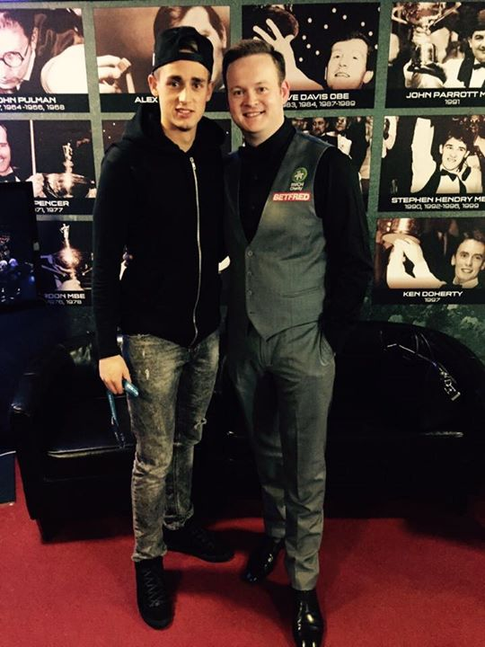 PICTURE: Januzaj is a snooker fan