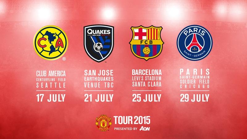 United's pre-season tour dates announced