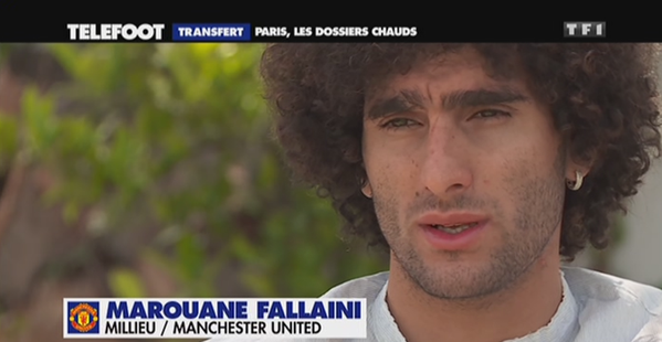 Fellaini: Di Maria would be a great signing for PSG