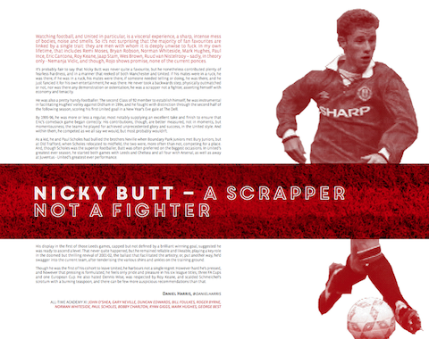 Nicky Butt – A scrapper not a fighter