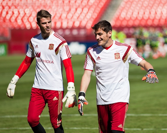 Casillas: I will compete with De Gea for starting role