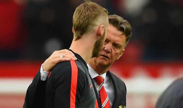 LvG: I'll speak to club about De Gea but not the media