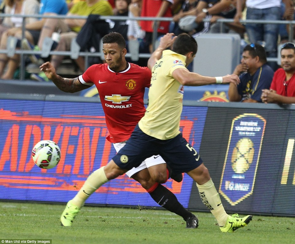 Depay: It was a special feeling putting on United shirt