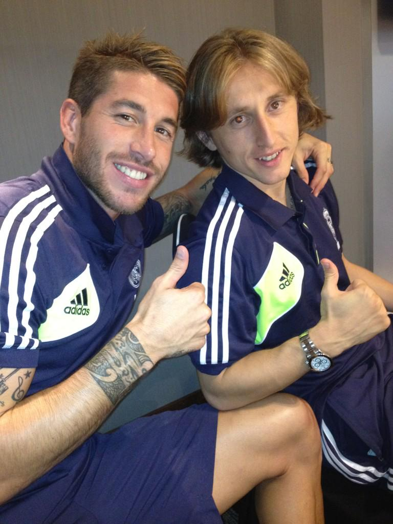 Modric: I'm sure Ramos wants to stay