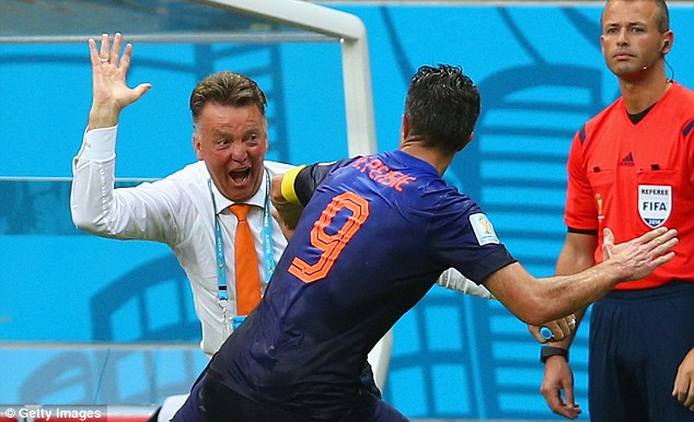 LvG: I sold RvP because he didn't contribute enough