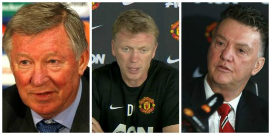 Journo insight: The difference between Fergie, Moyes and LvG press conferences