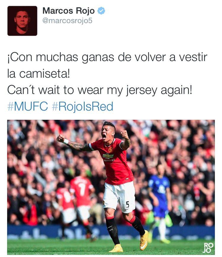 PICTURE: Rojo is red