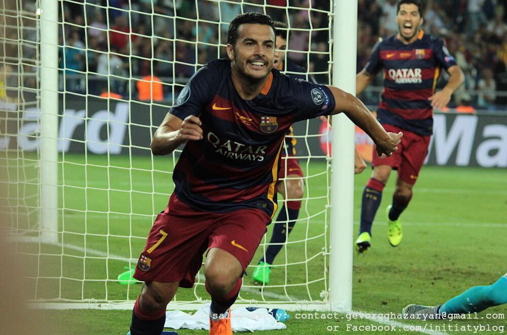 Pedro: I don't want to leave but I want to play