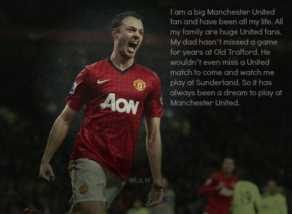 Jonny Evans in quotes: I am a big United fan and have been all my life
