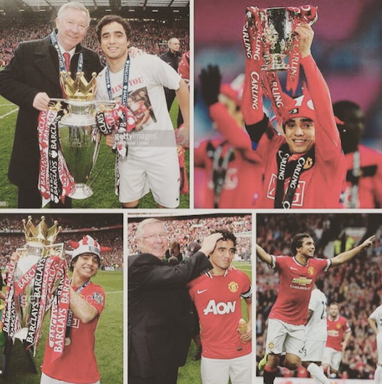 Rafael: Thank you Manchester United fans for all your love