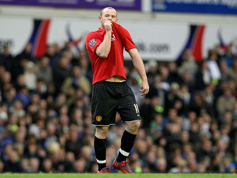 What did Rooney say when he left Everton?