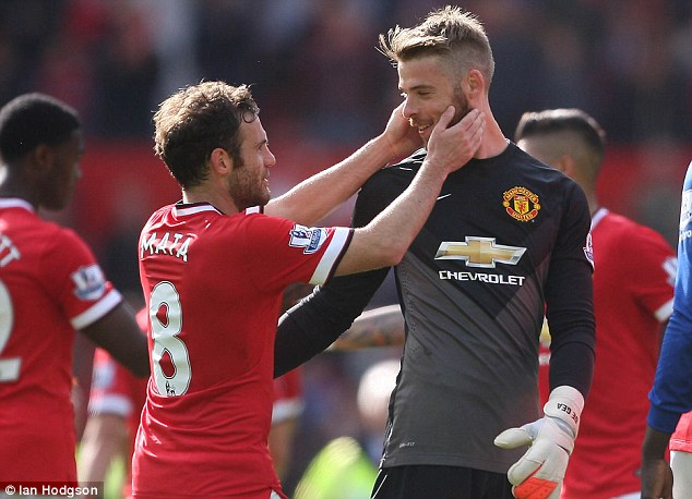 Mata: De Gea is happy again