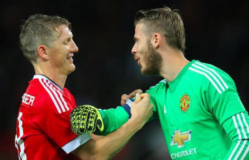 PICTURE: De Gea proud to captain United