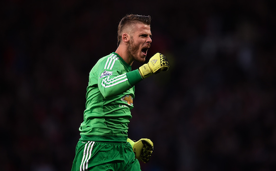 PICTURES: Does De Gea still care about United?