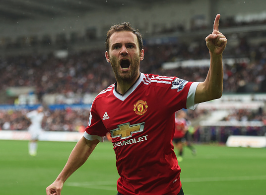 STATS: Mata at United has scored more goals than any PL midfielder