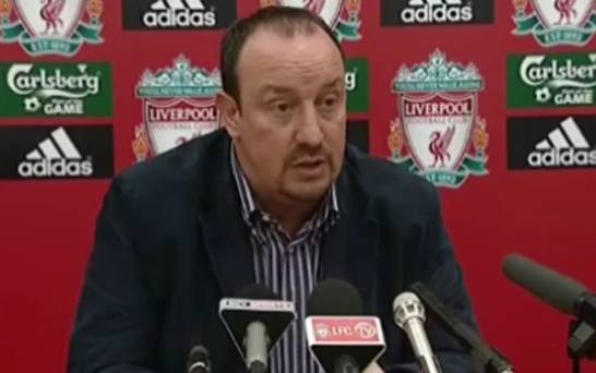 "Gerrard: Benitez's ""facts"" rant was embarrassing"