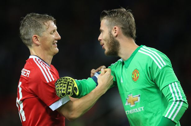 Schweinsteiger: Blind told me to give De Gea captain's armband