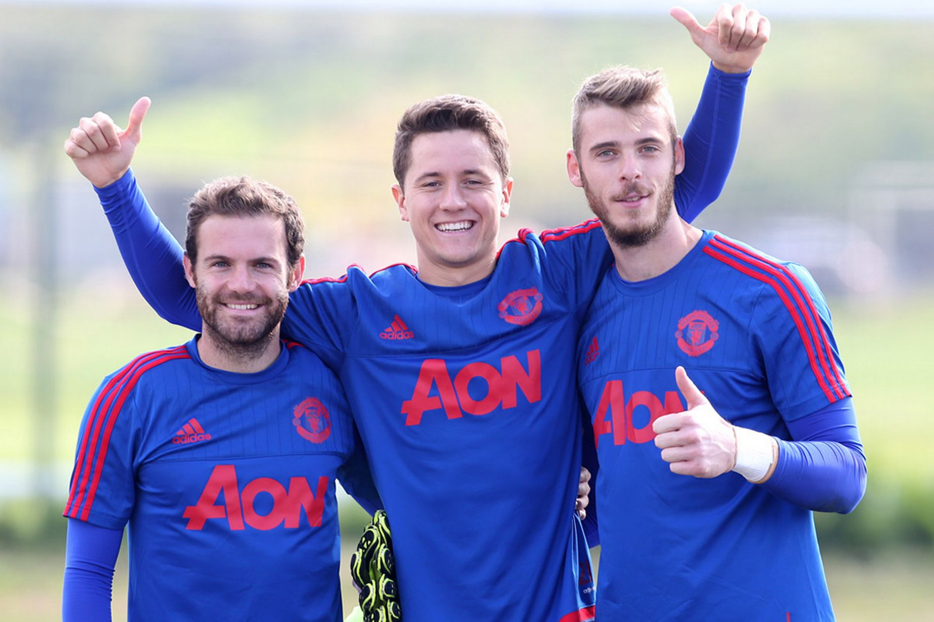 Herrera: Spanish players have found their place at Manchester United