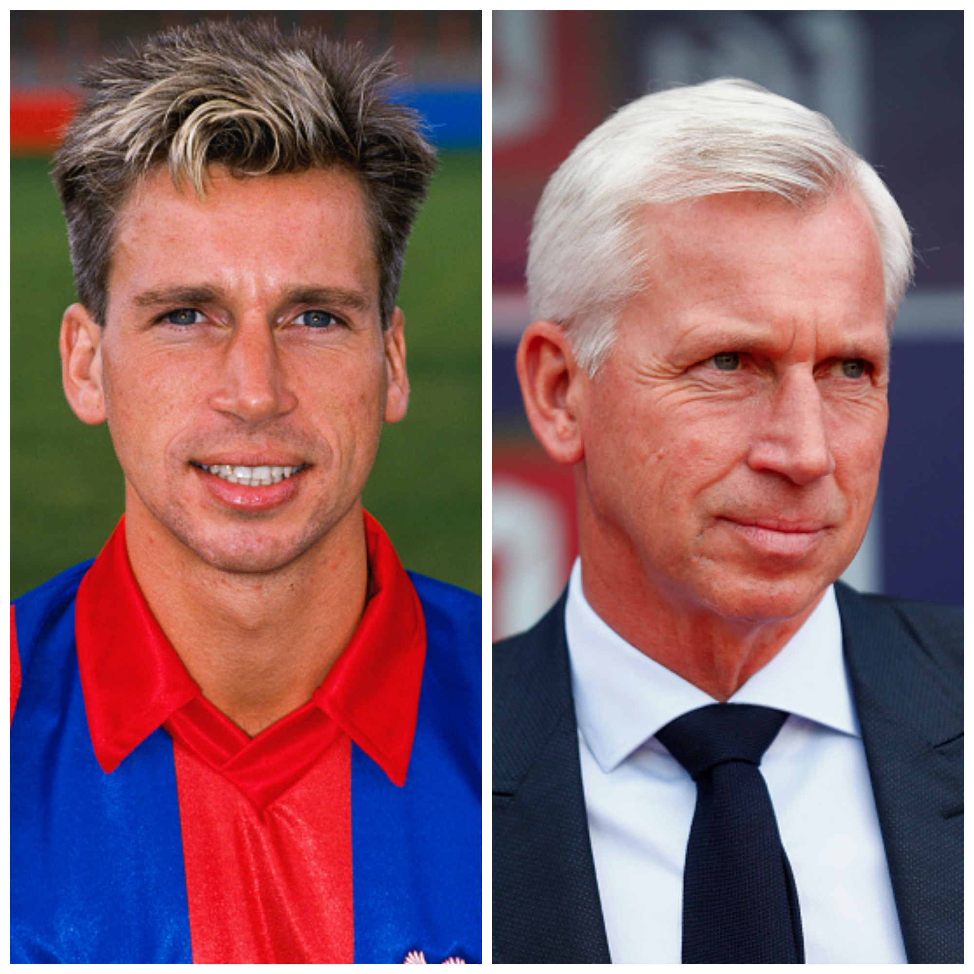 PICTURE: Pardew the last time Palace beat United