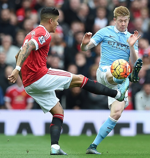 Was De Bruyne playing today? Ask Marcos Rojo