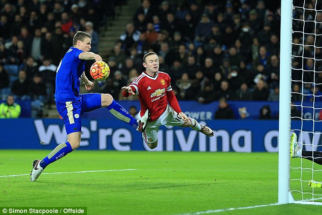 PICTURES: Rooney's cuts after Huth challenge