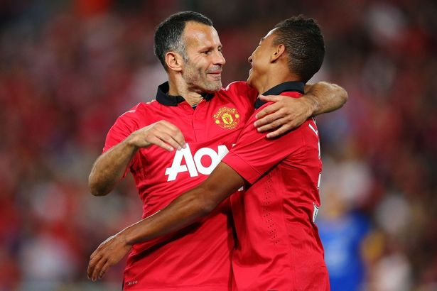 Lingard: I've always looked up to Giggs