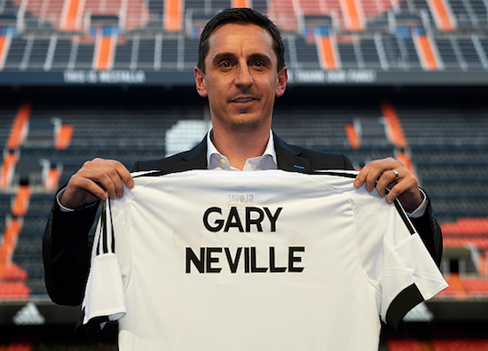 PICTURES: GNev with Valencia shirt