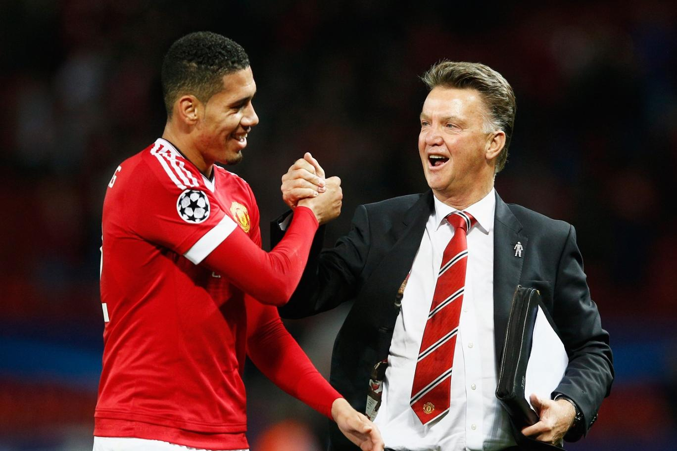 Smalling: Silly to say we're not playing for LvG