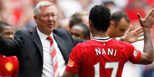 Nani: Fergie could make us win with a single word