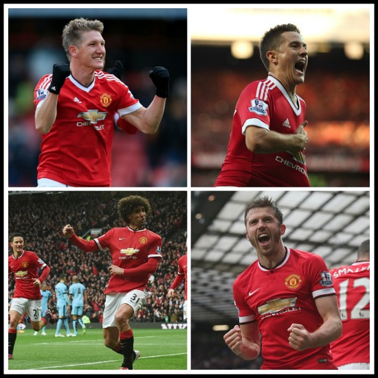 Manchester United 2015 review – The midfield