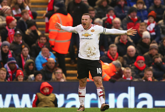 LvG: I asked Rooney to score at Anfield