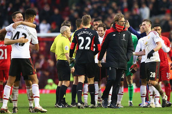 Klopp: United will be feeling brilliantly now