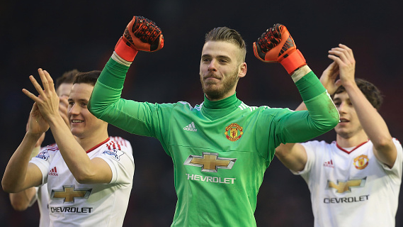 Schneiderlin: We are very happy that De Gea is committed to United