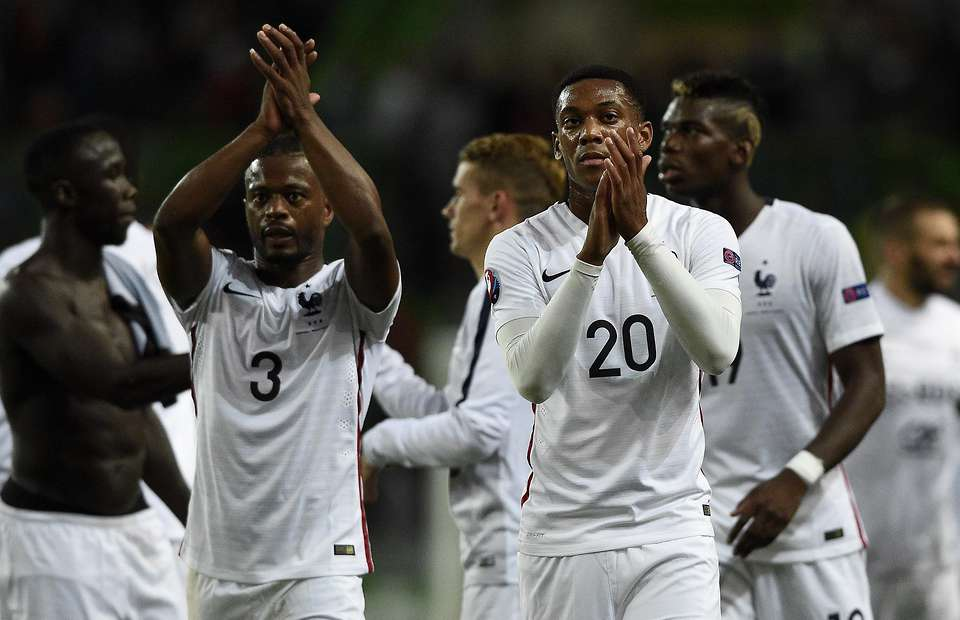 Martial: Evra told me to sign for United