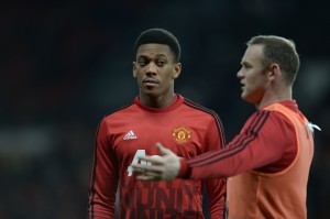 Martial's perfect side-eye