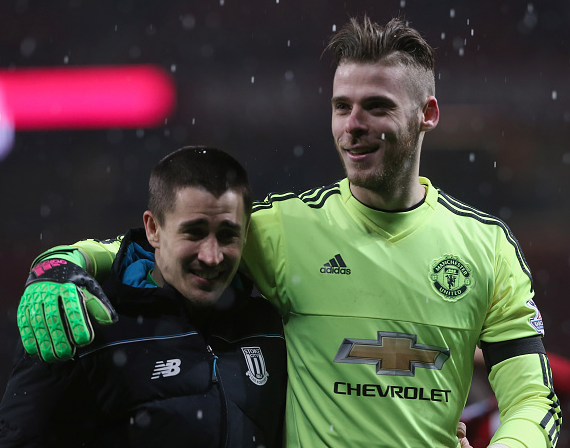 De Gea: I'm very happy we beat Stoke