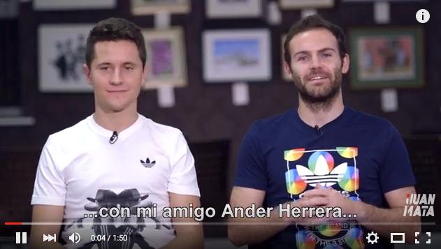 VIDEO: Mata vs Herrera in Champions League quiz