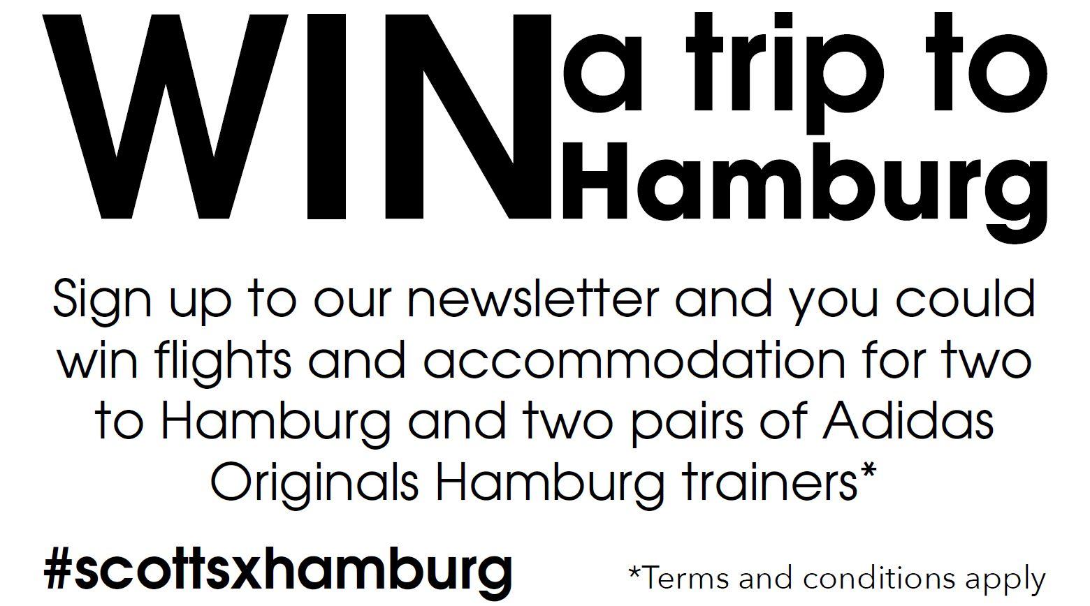 Win a trip to Hamburg